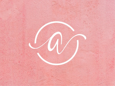 Aaliilogue Logo Mark hand lettering logo mark logo design typography calligraphy minimal branding