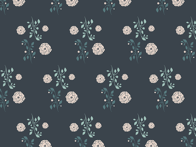 Pattern Play hand drawn surface design whimsical minimal leaves illustration floral feminine patterns