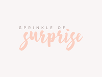 Logo Design for Sprinkle of Surprise