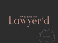 Law Magazine Branding