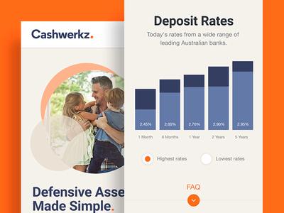 Cashwerkz — Mobile