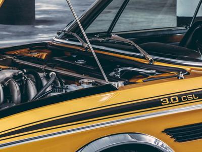 BMW CSL 3.0 - Art Direction