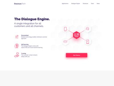 Dialogue Technologies - Landing Page 3