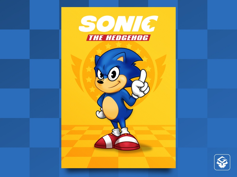 Sonic The Hedgehog - Poster