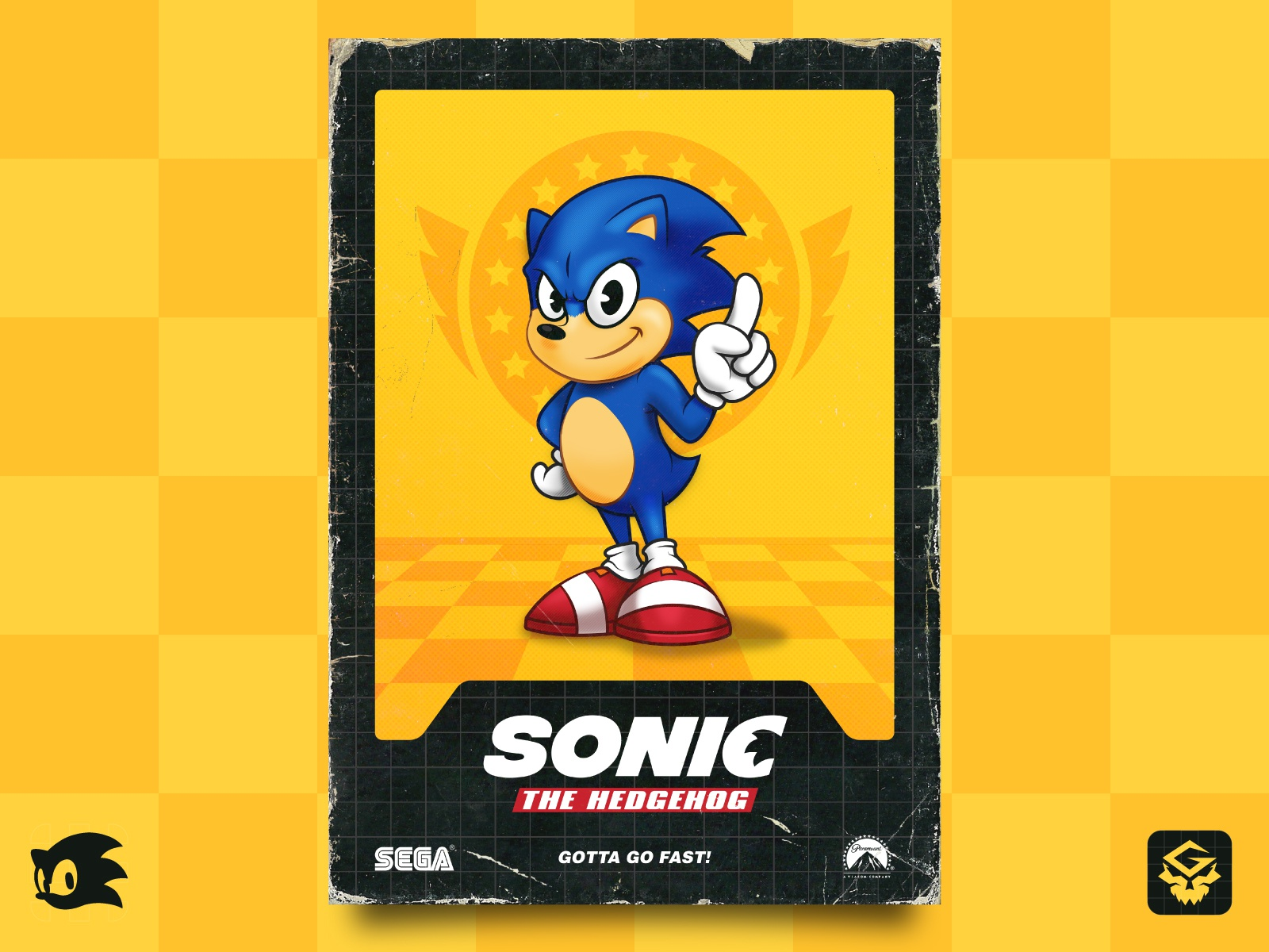 Sonic The Hedgehog Poster 2 By Gabriel Arruda On Dribbble