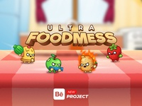 Ultra Foodmess | Game | Behance Project