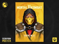 Scorpion | Mortal Kombat 11 | Behance