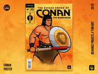 Savage Sword of Conan | Behance project