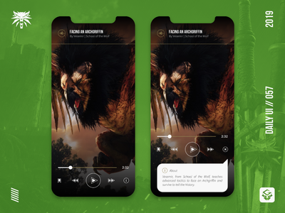 Video Player | #dailyui 057