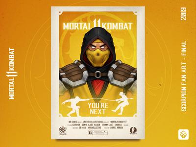 Scorpion | MK11 Fan Art | Final Update