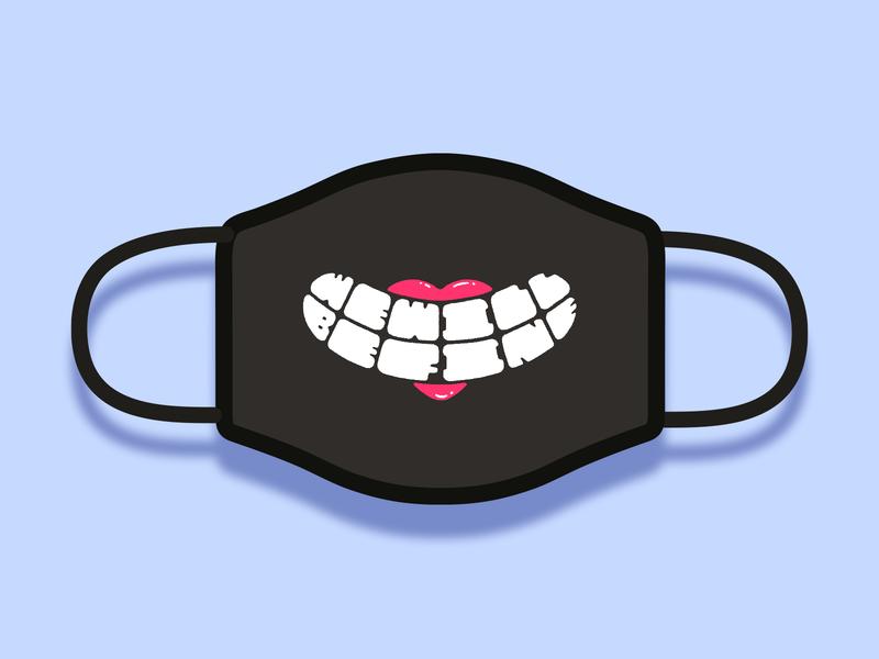 Good Face Mask Challenge health prevention distance coronavirus mask design dribbble best shot dribbble smile fine