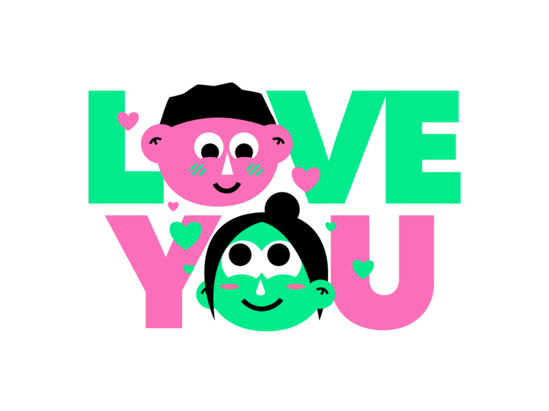 Mushy Love Sticker