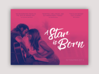 A Star is Born Landing Page - Daily UI 003