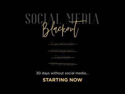 Social Media Blackout