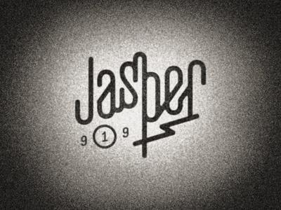 Jasper lettering