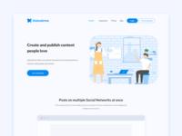 Statusbrew - Publish Landing Page