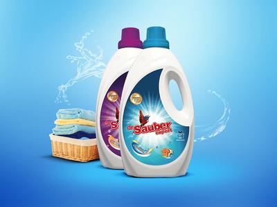 Washing gel design