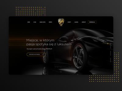 Car Website automobile adobe sketch modern speed car website luxury design logo mobile adobexd web design black website webdesign clean technology car tesla