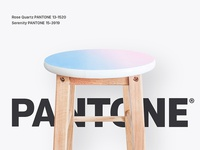 Hand Painted Pantone Stool