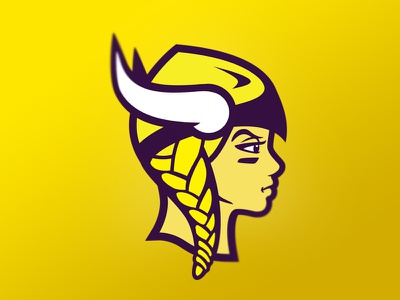 Lil' Vikings girl youth womens sports national football league football nfl minnesota vikings