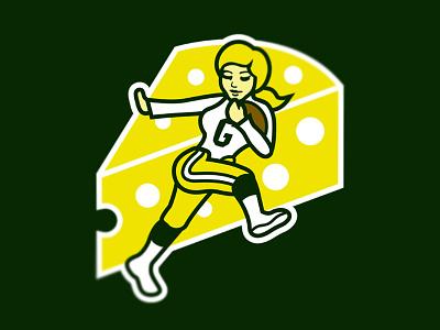Green Bay Packerettes women feminism football nfl national football league packers wisconsin green bay