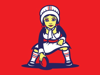 Patrica Patriot women cheerleader feminism boston national football league nfl new england patriots patriots new england