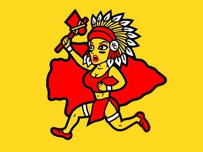 Kansas City Chiefs Cheerleaders women cheerleader feminism kansas hatchetman insane clown posse icp national football league nfl chiefs kansas city