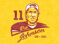 Rob Johnson USC Trojans Logo