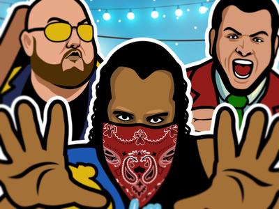 Pro Wrestling Flyer