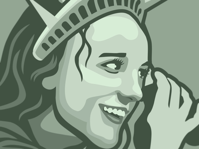 Britney Spears Statue of Liberty