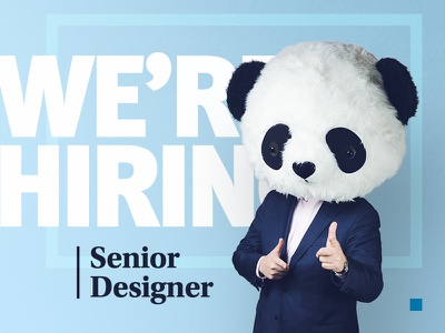 We're hiring a senior designer! design washington dc agency designer job hire hiring senior designer nji media