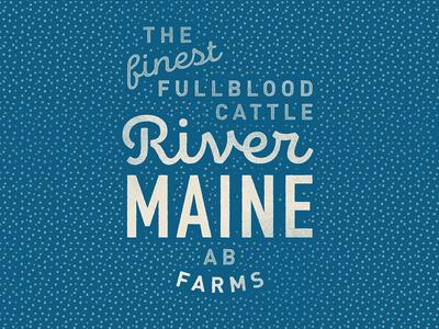 River Maine - Farms