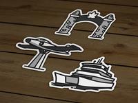 North Bay Sticker Series - Vinyl Sticker Pack