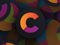 Clark Communications Coffee Coaster