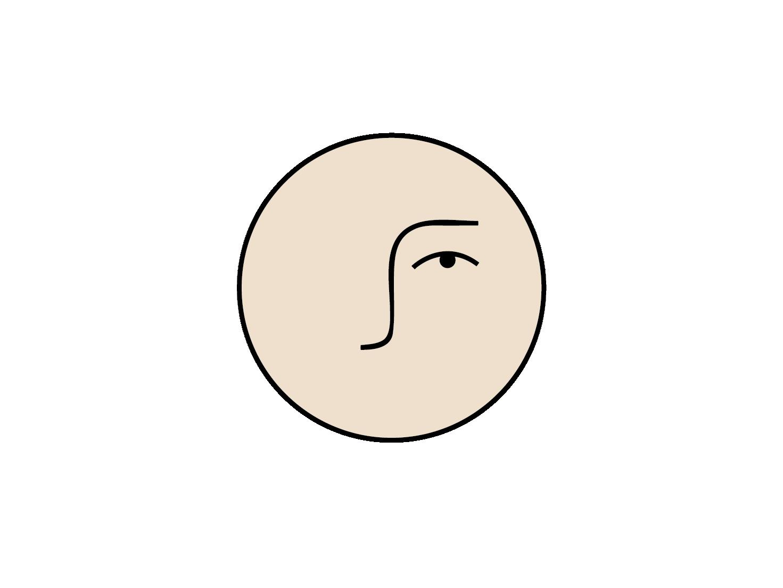 matimati branding concept iconface minimal cosmetics branding icon logo