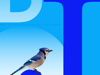 Blue J Poster
