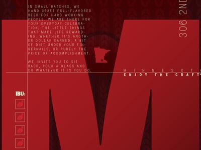 Montgomery Poster tim tourtillotte orbital visual llc poster art poster minnesota craft beer montgomery brewing typography