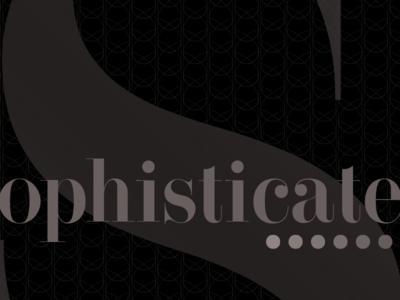Sophisticate tim tourtillotte orbital visual llc poster art poster minnesota fashion branding thefuturchallenge typography