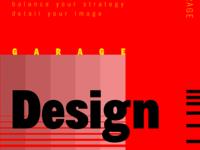 Design Garage Poster