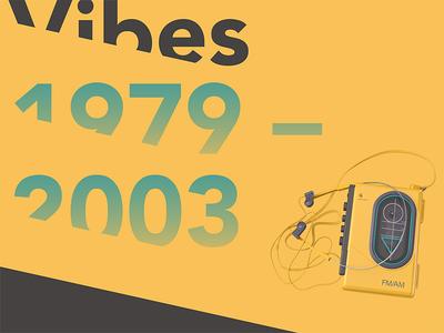 Old Vibes Poster graphic design poster art expert thinker designer design artist orbital visual llc tim tourtillotte branding thefuturchallenge typography
