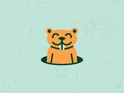 Golf Classic course tech texture animal hole tournament mark logo illustration caddyshack gopher golf