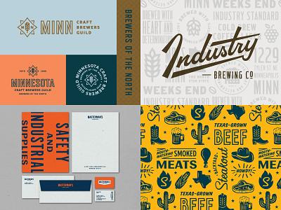 2018 logotype lockup restaraunt brewery beer script identity illustration branding brand logo 2018
