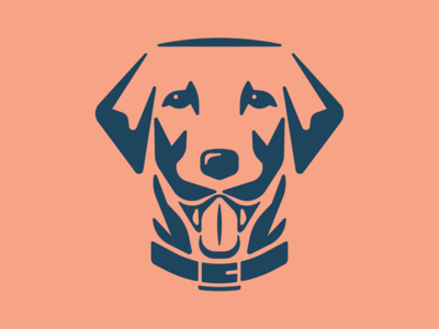 Good Boy symbol branding dog animal pet vet illustration dog logo mark brand logo