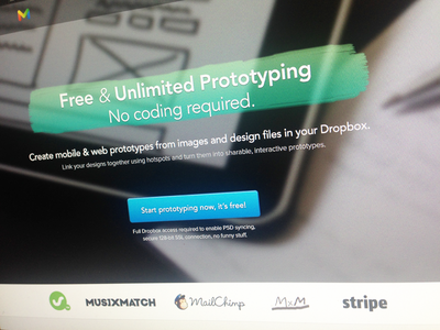 Create Prototypes Using Dropbox - For Free