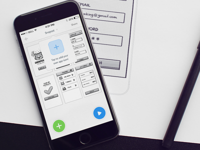 Marvel for iOS project view ios ui project thumbnails app icon