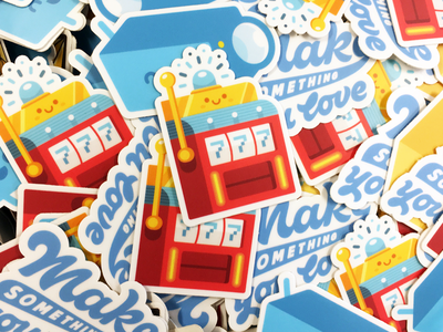 Stickers! illustrations stickers