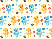 Bot background pattern