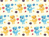 Bot background pattern