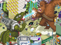 State of the Digital Nation 2016 pixel art illustration art blog article post