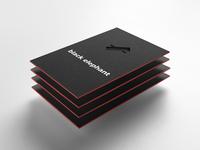 Black Elephant   Business Card